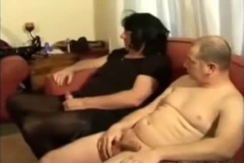 daddy female taskmaster and young ladyboy foursome with two males