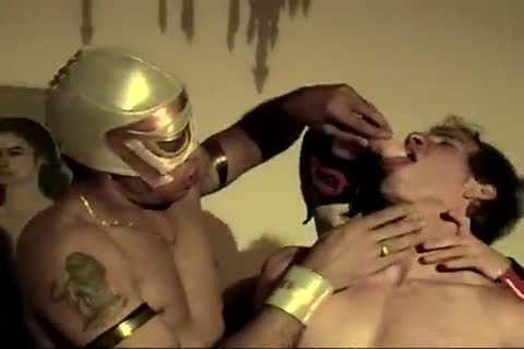 Mexican wrestlers nailing