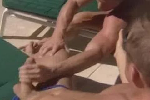 Poolside 3some