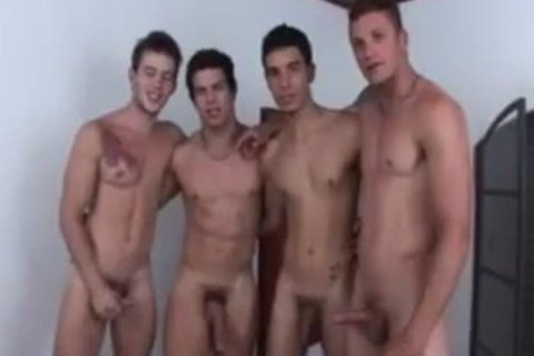 Hunks fuckfest Coition With Blowjobs & wazoo Fingering