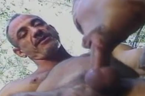 Body Builders gracious Outdoor booty pounding