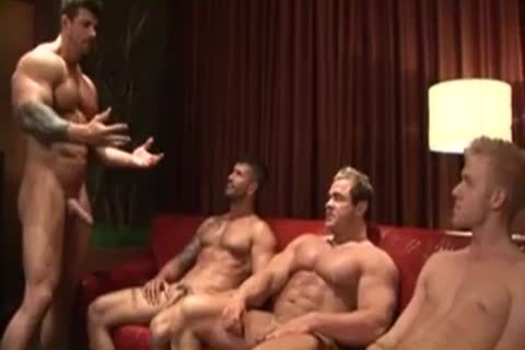 Tattooed Body Builders Have ideal banging Lesson