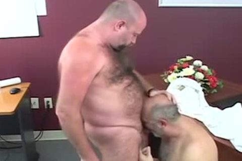 delicious-looking chubby Bears banging After Giving blowjob-stimulation-service