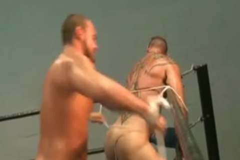Tall And Short Wrestling Part 4