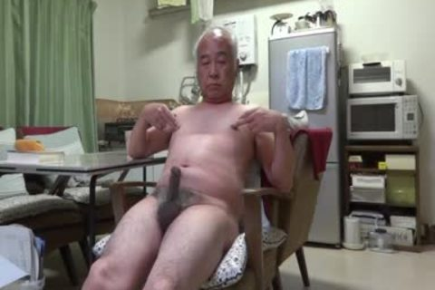 Japanese daddy guy admirable Feelings guy Even Touching The teat