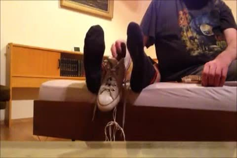 beautiful Skater Tickled On His Feet