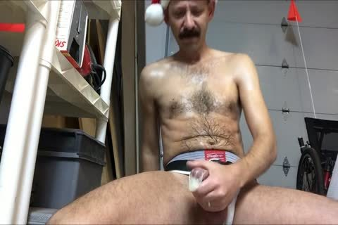 Doing Up Some Loads For Dgwdy69.  This Is The First Load.  Figured I would Make A Holiday Theme Of It.  plenty of Cigar Smoking, Posing In My Jockstrap, And Jerking.
