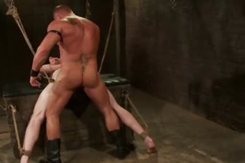 First-Timer Ben wants Being Teased And fastened By Leather master