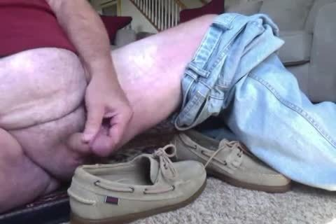 Here I'm Wearing My recent Beige Suede Sebago Docker Boat Shoes.  They truly Feel Great On My Feet And Make My knob Tingle Just Wearing 'em.  I Hope Your knob Will Do greater quantity Then Tingle As u Watch Me Show Off those moist Boats Shoes And