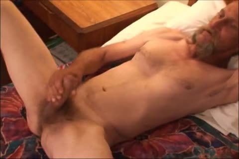 Just A scarcely any Minutes Of A clip I Have, An daddy unsightly lad Shows His wicked biggest Uncut messy 10-Pounder And messy butthole