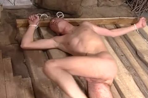 Ready To Spy Upon Ropes And Sex - Scene two - All Male Studio