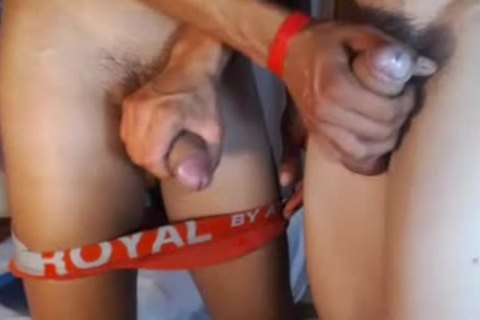 two fashionable Romanian boyz group-sex, palatable Blowjobs And sex sperm On web camera