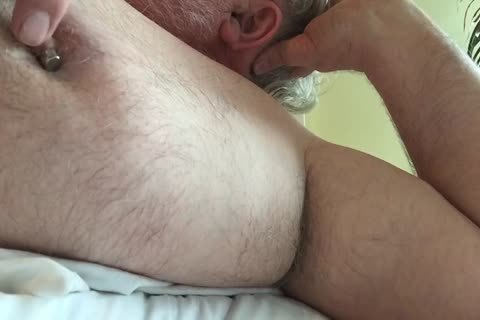 This Week's clip Focuses On My teat And My Armpit. I Tweak My teats Until It Makes My 10-Pounder Hard, Then I jack off And jack off Until I love juice. lastly, I Rub My BearChub Load Into My Armpit Hair For u To engulf.