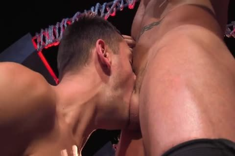 Austin Wolf  Uses Brenner's throat & butthole
