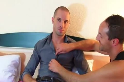 Full movie scene scene: A admirable innocent lad Serviced His biggest dick By A lad