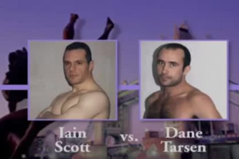 gigantic Wrestling: Iain VS. Dane