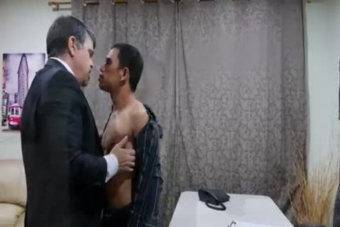 pleasant Daddy Chinese nailing And Slurping