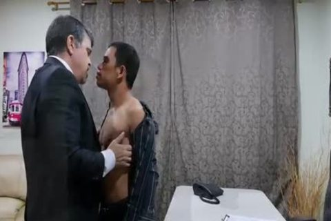 agreeable Daddy Chinese Fornicating And engulfing