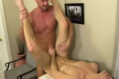 excited Boss Mitch Vaughn nails Dustin Fitch In His arsehole
