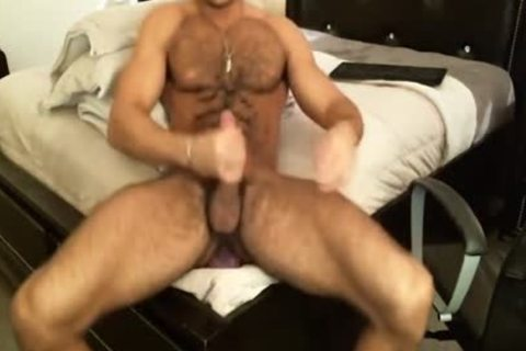 shaggy Sean Zevran Dildos On web camera And Cums Twice
