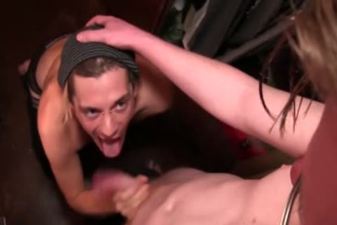 A Monster cock pounded Inside Him