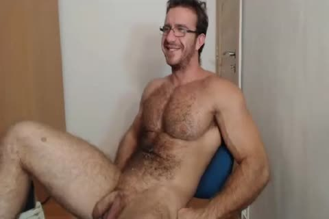 [web camera] Bigdudex A lusty hairy Daddy Shows butthole And