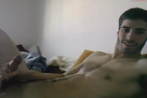 large Cocked Exhibitionist jerking off His Megadick