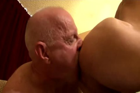 old Daddy pokes Parker raw