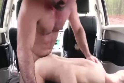 wicked dad nails His Step Son In A Car - FAMI