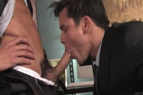 massive 10-Pounder homosexual oral job And cumshot