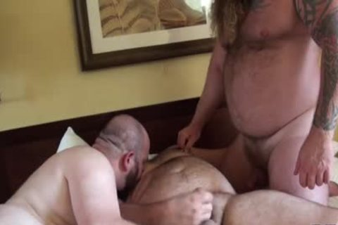 Gunner, Morgan, And Rusty suck And pound