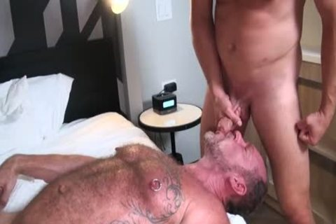 Hans Berlin bonks Randy Open raw aperture Until he Cums