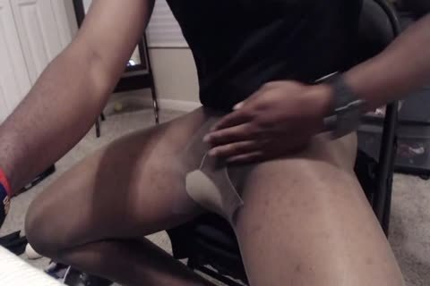 15 Minute jack off And cum In Sheer Energy hose