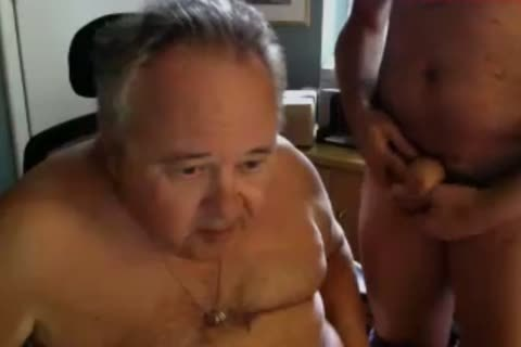 grandad engulf On webcam