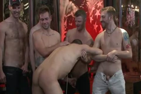 yummy homo spanking And Facial