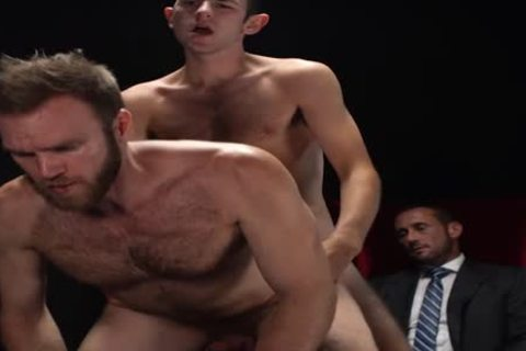 MormonBoyz - Two Missionaries poke As torment For Priest Daddy