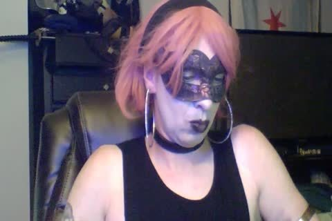 dirty Dancing Goth CD webcam Show (part 2 Of 2)