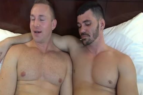 Adam Adonis & Brogan Reed in nature's garb In Dallas