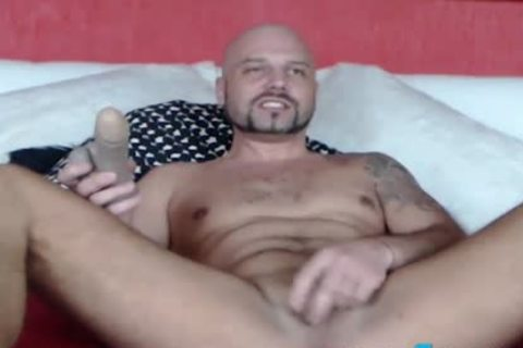 Fetish guy CBT Ball Punching And Gaping wazoo Play
