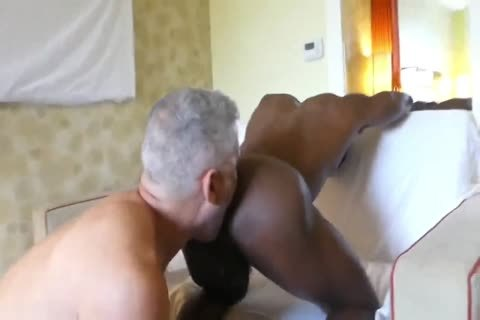 Hung White dad taut black butthole
