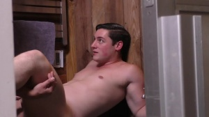 Sorry daddy - Damien Stone with Clark Campbell gigantic dick Nail