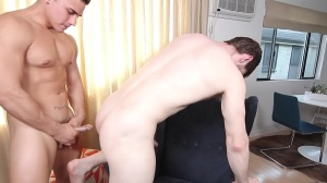 The Married Bottom - Dennis West & Topher Di Maggio pooper Hook up