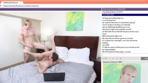 The Chat Room - Cameron Foster & Brandon Moore anal Hook up