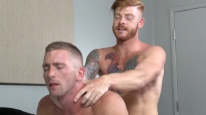 Straight guy's skank - Bennett Anthony and Scott Riley ass Nail
