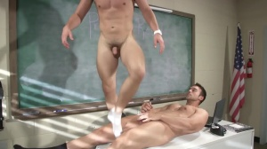 Hazing Bust - Rocco Reed & Joey Cooper butthole Hump