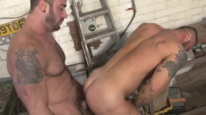 Late For Work - Spencer Reed and Alex Marte ass bone