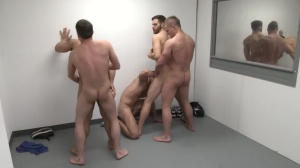 The Line Up - Landon Conrad & Trevor Knight butthole job