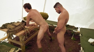 Cumsassins - Damien Stone and Zach Country butthole pound