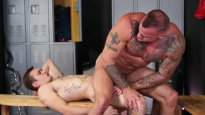 Confessions Of A Straight chap - Sean Duran & Jackson Traynor pooper fuck
