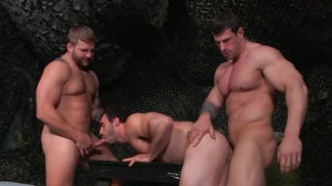 tour Of Duty - Zeb Atlas with Colby Jansen butthole sex